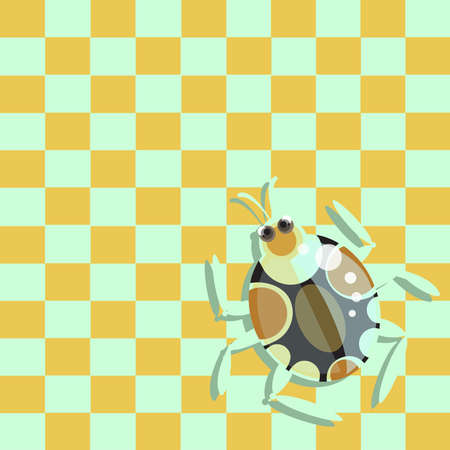 ladybird: Beetle on a chessboard