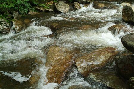Mountain Rapids Stock fotó