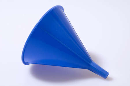 Blue Funnel Isolated