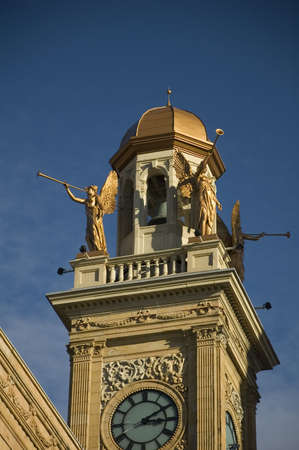Courthouse Tower in Canton, Ohio