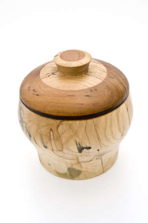 wooden lid: Container with Lid Covered