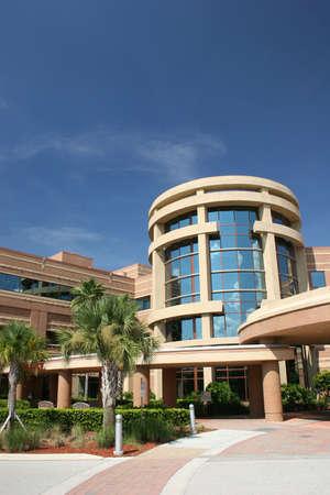 hospital: Modern Hospital Stock Photo