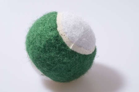 Green and White Ball Stock Photo