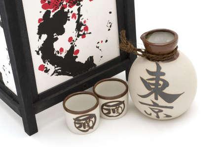 saki: Lantern and Saki Cups