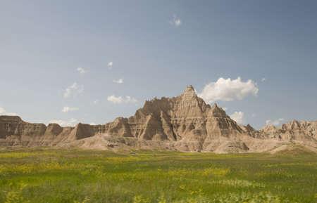 dakota: Badlands in South Dakota