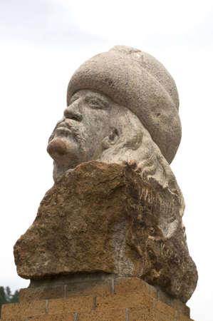 Statue of Wild Bill Stock Photo