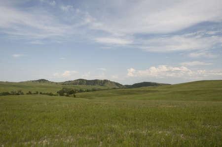 dakota: South Dakota Landsacape Stock Photo
