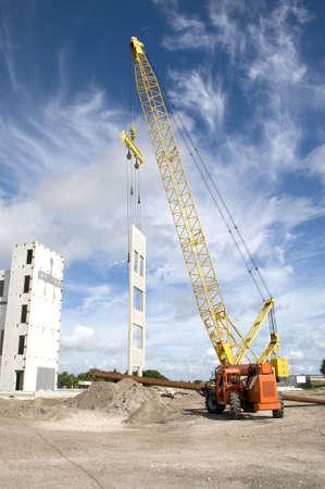 Tilt Wall Construction 版權商用圖片