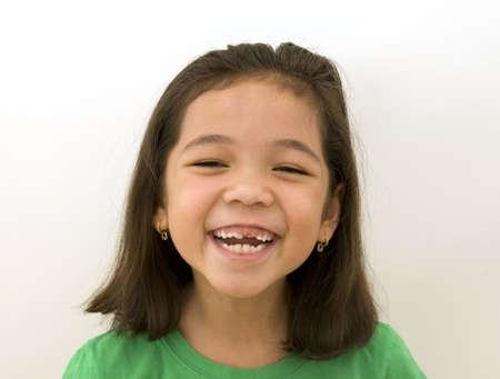 Asian Girl Laughing