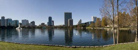 Downtown Orlando Panorama