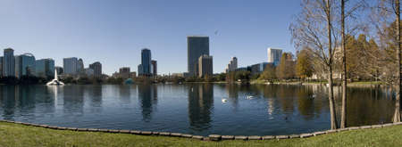 Downtown Orlando Panorama