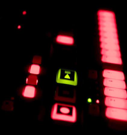 Drum Machine at Night Stok Fotoğraf