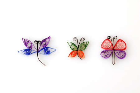 quilling: Quill Paper Insects