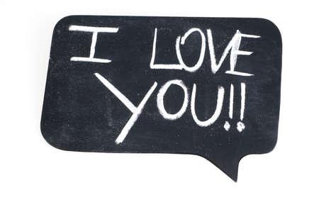 bande dessin�e bulle: I Love You Cartoon Bubble