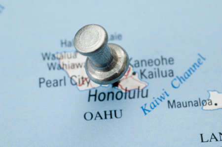 Thumbtack on Hawaii.