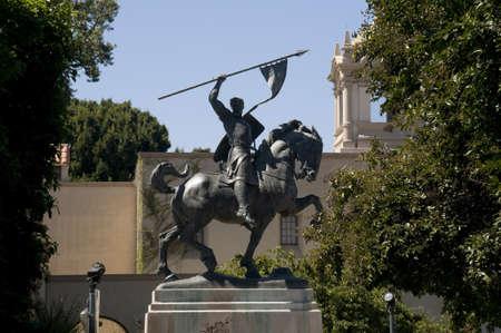 cid: El Cid Statue in San Diego