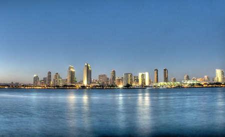 HDR of San Diego Skyline