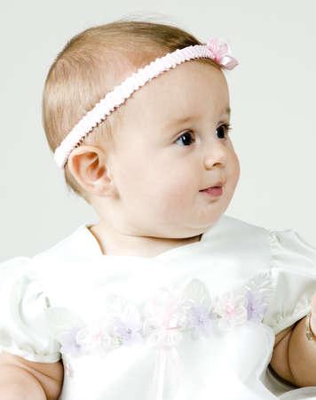 Baby Girl Portrait Stock Photo - 8190984