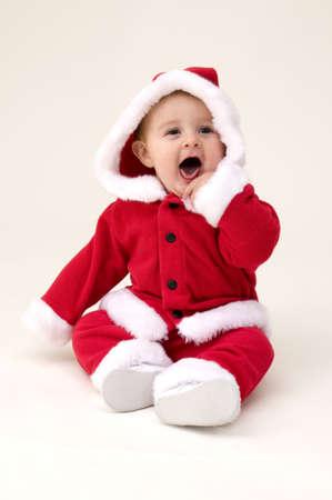 산타 베이비 스톡 콘텐츠