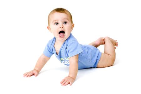 baby crawling: Rastreo de beb�