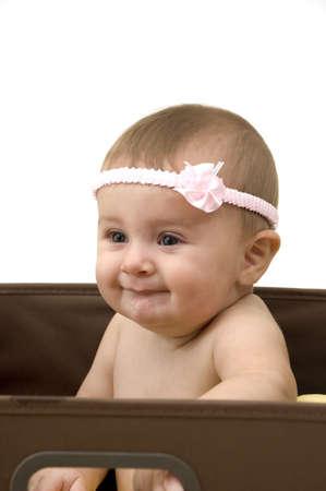 Cute Baby in a Box