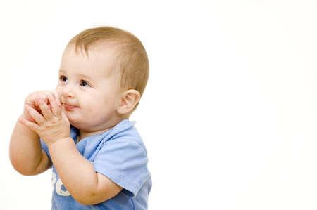 maliziosa: Baby malizioso Archivio Fotografico
