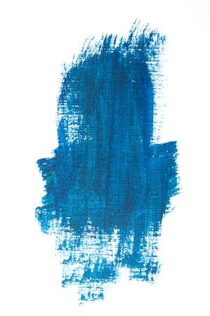 verschmieren: Blau Grunge Textur