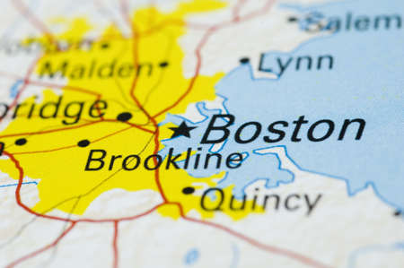 Boston - Map is Copyright Free Off Nationalatlas.gov
