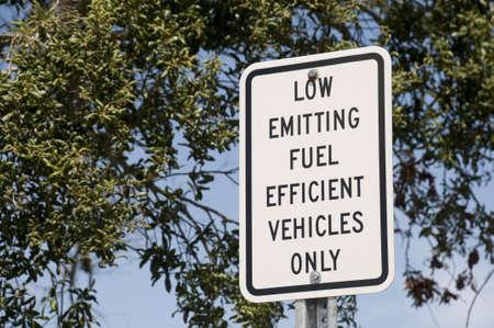 低放出燃料記号 写真素材