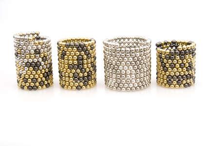 Cylinder of Magnets Stock fotó