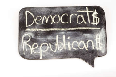 Democrats and Republicans 版權商用圖片