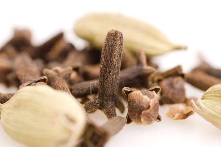 spice: Cardamom Spice Stock Photo