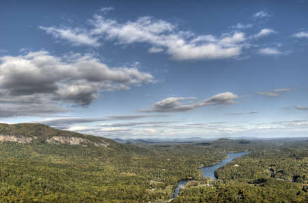 View of NC from Chimney Rock photo