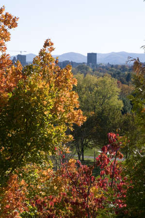 Fall in Asheville, North Carolina photo