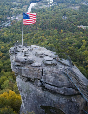 Chimney Rock in North Carolina Stock Photo - 11106536