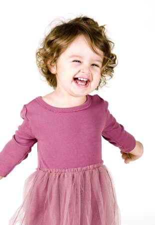 Portret van Baby Girl Stockfoto