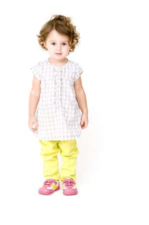 Baby Girl Isolated Stock Photo - 11165714