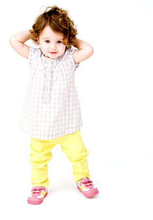 Toddler Posing