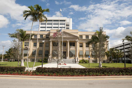 Historic Courthouse in West Palm Beach, FL