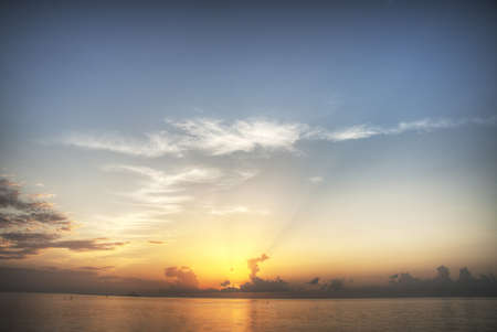 dry tortugas: Sunset at Dry Tortugas