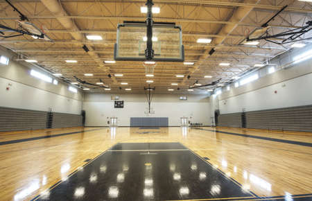 gymnasium: basketball