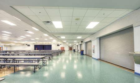 Cafetería de la escuela Foto de archivo - 14296250