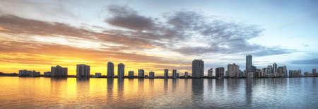 Panorama of Miami Skyline