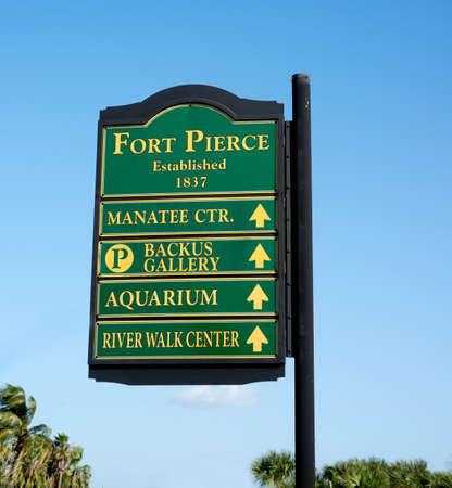 pierce: Sign in Fort Pierce