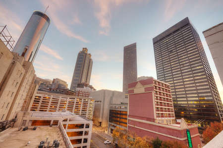 HDR of Atlanta Stock Photo - 16297114