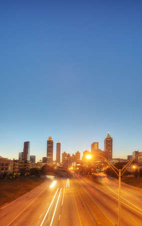 HDR of Atlanta Stock Photo - 16297104