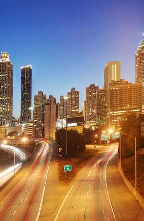 HDR of Atlanta Stock Photo - 16297113