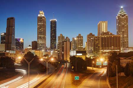HDR of Atlanta Stock Photo - 16297116