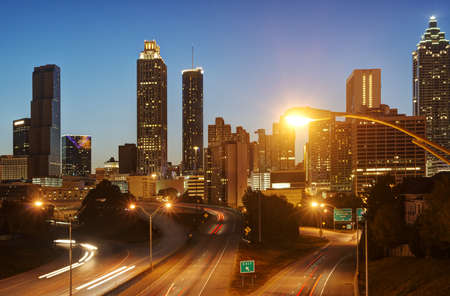 HDR of Atlanta Stock Photo - 16297106