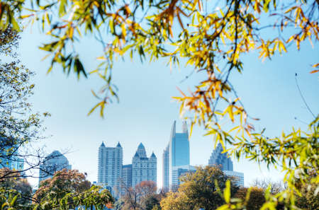 Atlanta in the Fall Stock Photo - 16297117